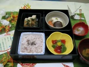 お祝い膳 軟菜食